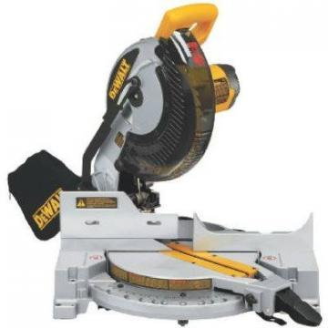 DeWalt 10-Inch 254mm Compound Single-Bevel Miter Saw