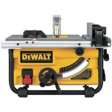 DeWalt Table Saw, 10-Inch, 15A