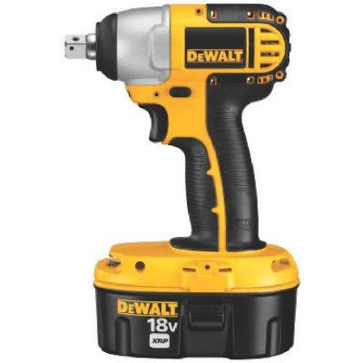 DeWalt Cordless Impact Wrench Kit, 1/2-In. With 18-Volt XRP Batteries & Charger
