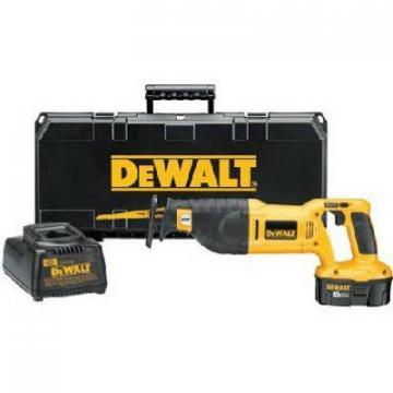 DeWalt Reciprocating Saw Kit, 18-Volt