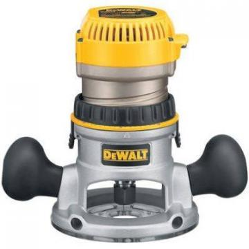 DeWalt Fixed Base Router Kit, 1-3/4-HP, 8 Collets
