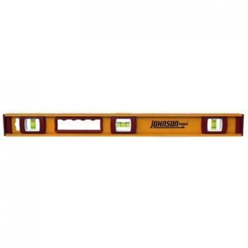Johnson I-Beam Level, Heavy-Duty Aluminum, 24-In.