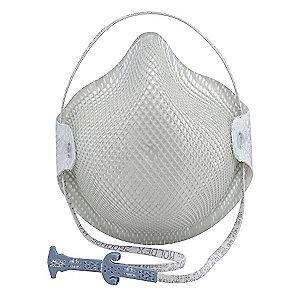 Moldex N95 Disposable Particulate Respirator, White, M/L, 15PK