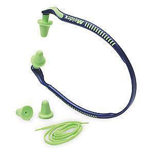 Moldex 25dB Reusable Tapered-Shape Hearing Band; Banded, Green