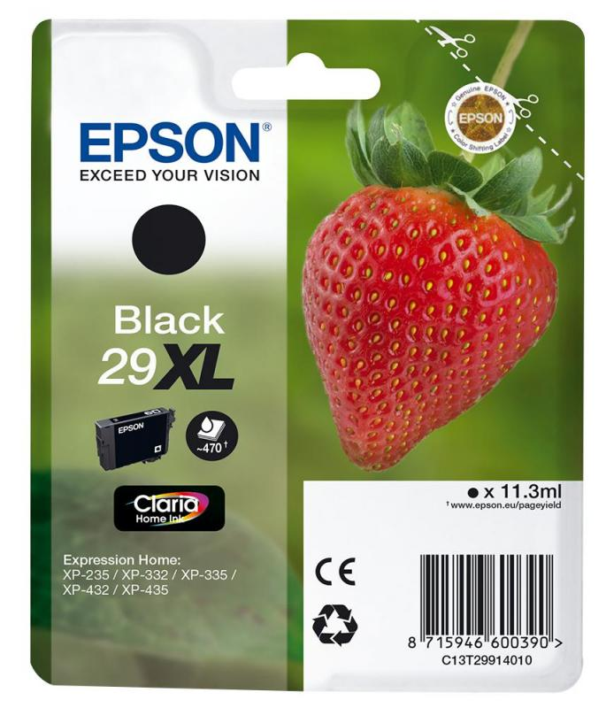 Epson Claria Home Ink Cartridge - Black 29XL