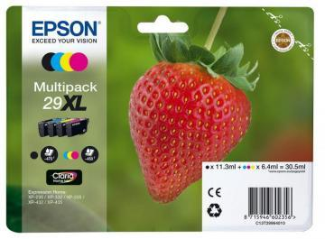 Epson Claria Home Ink Cartridges - Multipack 4-Colours 29XL