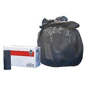 Tough Guy 30 gal. Medium Trash Bags, Black, Coreless Roll of 250