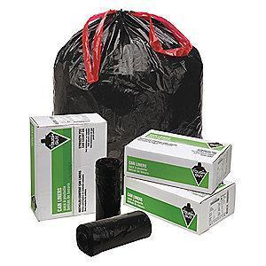 Tough Guy 30 gal. Extra Heavy Trash Bags, Black, Coreless Roll of 70