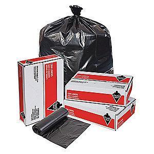 Tough Guy 7 gal. Light Trash Bags, Black, Coreless Roll of 500
