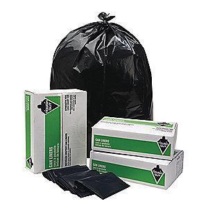 Tough Guy 33 gal. Super Heavy Trash Bags, Black, Coreless Roll of 50