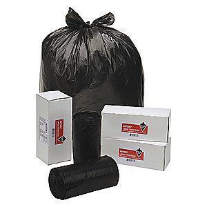 Tough Guy 30 gal. Extra Heavy Trash Bags, Black, Coreless Roll of 40