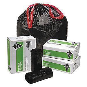 Tough Guy 30 gal. Extra Heavy Trash Bags, Black, Coreless Roll of 90