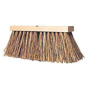 "Ability One Push Broom, Block Size 16"", Hardwood Block Material"