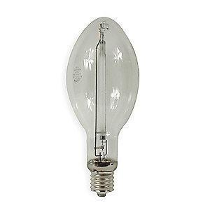 GE 750W High Pressure Sodium HID Lamp, ED37, Mogul Base E39, 110,000 lm, 2100K