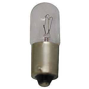 Eaton Flashing Miniature Incandescent Bulb, T3-1/4, BA9s