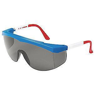 Condor Spirit Anti-Fog, Scratch-Resistant Safety Glasses, Gray Lens Color