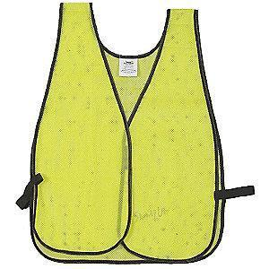 Condor Safety Vest, Poly, Lime