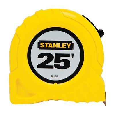 Stanley Top-Lock Tape Measure, 25-Ft. x 1""