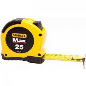 "Stanley 25-Ft. x 1-1/8"" Maxsteel Tape Measure"