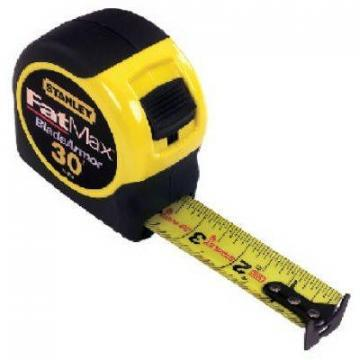 Stanley Fatmax Tape Measure, 30-Ft. x 1-1/4""