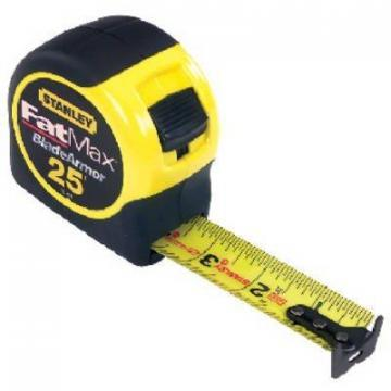 Stanley Fatmax Tape Measure, 25-Ft. x 1-1/4""