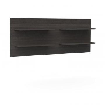Nexera Allure Decorative Wall Panel with 4 shelves
