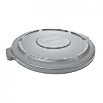 Rubbermaid Brute 32-Gallon Trash Can Lid, Gray