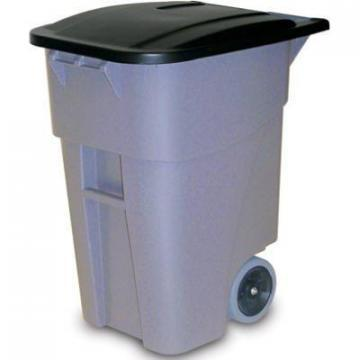 Rubbermaid Brute 50-Gallon Grey Trash Can