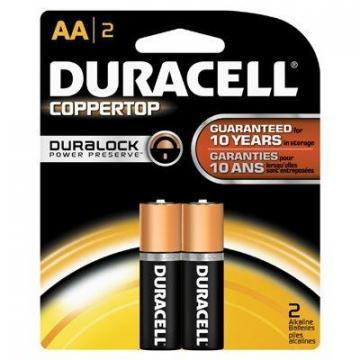 "Duracell 2-Pack  ""AA"" Alkaline Batteries"