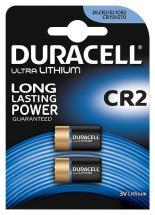 Duracell CR2 Ultra 3V Lithium Camera Batteries, 2 Pack