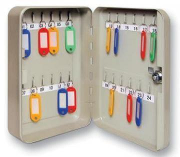 Sterling 24-Hook Key Cabinet Safe