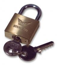 Sterling Brass Padlock 30mm