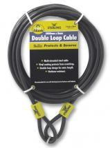 Sterling 8mm x 0.5m Double Loop Security Cable