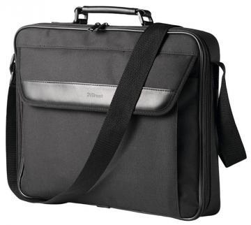 "Trust 17.3"" Atlanta Laptop Bag, Black"