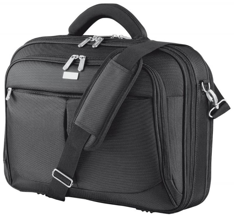 "Trust 16"" Sydney Laptop Bag, Black"
