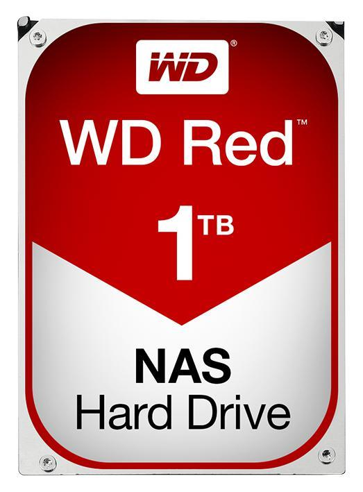 "WD Red NAS 3.5"" Internal HDD SATA 6GB/s - 1TB"