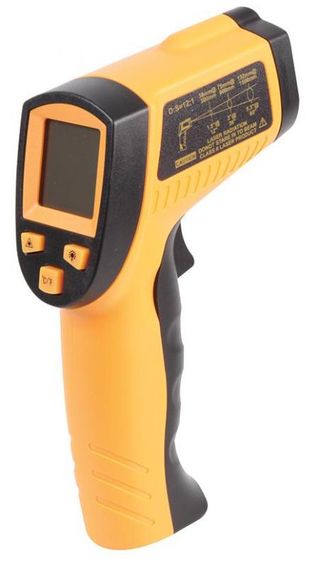 Duratool Infrared Thermometer with -50°C  to 380°C Range