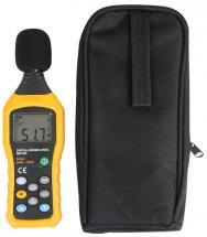 Duratool Digital Sound Meter with 30dB to 130dB & 35dB to 130dB