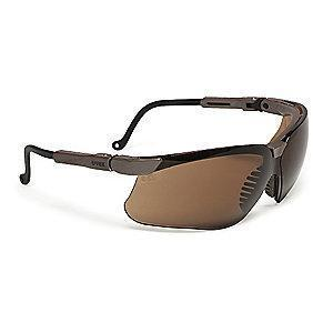 Honeywell Genesis  Anti-Fog Safety Glasses, Espresso Lens Color