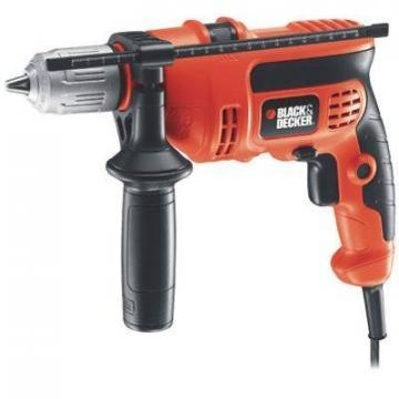 Black & Decker Compact Hammer Drill, Variable Speed, 1/2-Inch