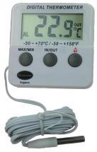 Brannan Indoor/ Outdoor Digital Thermometer with 2m Probe