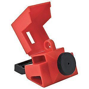 Brady Circuit Breaker Lockout, 480/600, Clamp-On, Polypropylene and Nylon