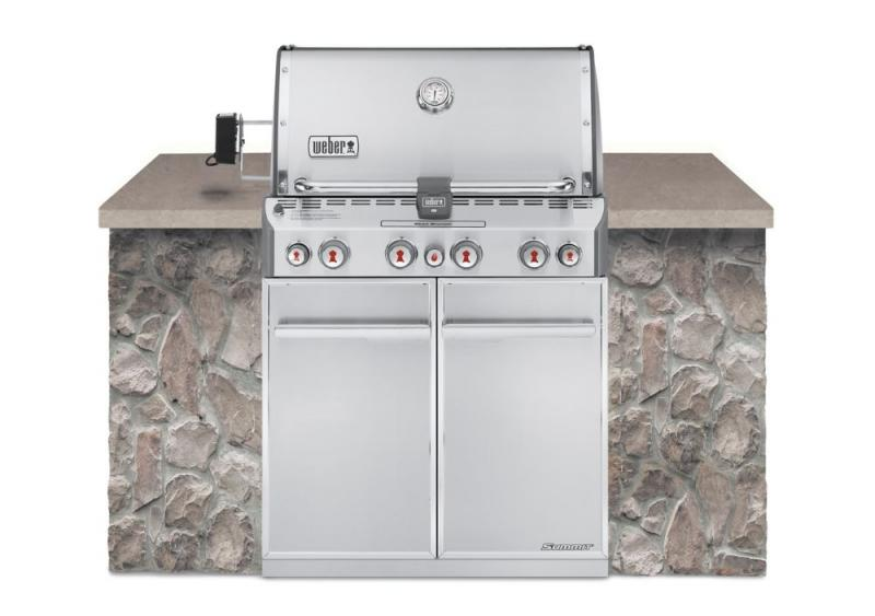 Weber Summit S-460 Built-In Natural Gas Barbecue