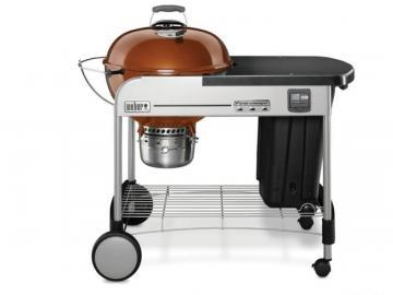 "Weber 22"" Performer Premium Charcoal BBQ in Copper"