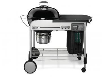 "Weber 22"" Performer Deluxe Charcoal BBQ in Black"