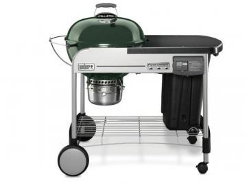 "Weber 22"" Performer Deluxe Charcoal BBQ in Green"
