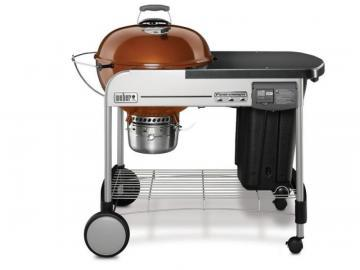 "Weber 22"" Performer Deluxe Charcoal BBQ in Copper"