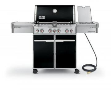 Weber Summit E-470 Natural Gas BBQ in Black