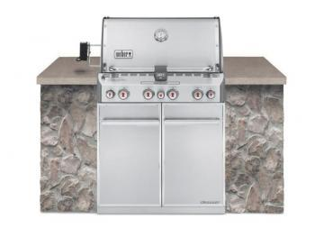 Weber Summit S-460 Built-In Propane Barbecue