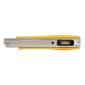 "Stanley 18mm Snap-Off Utility Knife,6-1/4"" Overall Length"